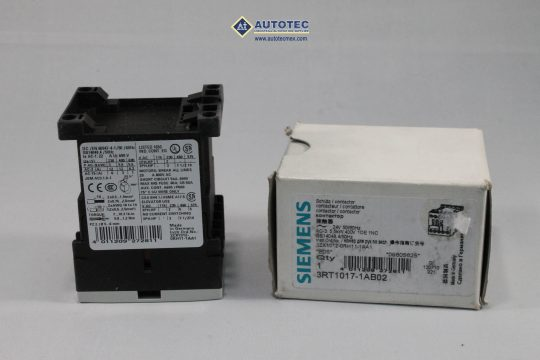 CONTACTORES SIEMENS 3RT1017-1AB02